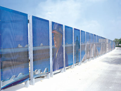 construction fence, Studio-han-design