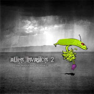 alien invasion, banana aliens, characters, biju neyyan