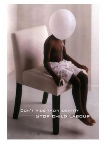 a message, a poster against child labour, hemang anglay