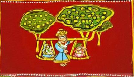 animation designer sunil tungaria, animation, shravan, kavad, folklore