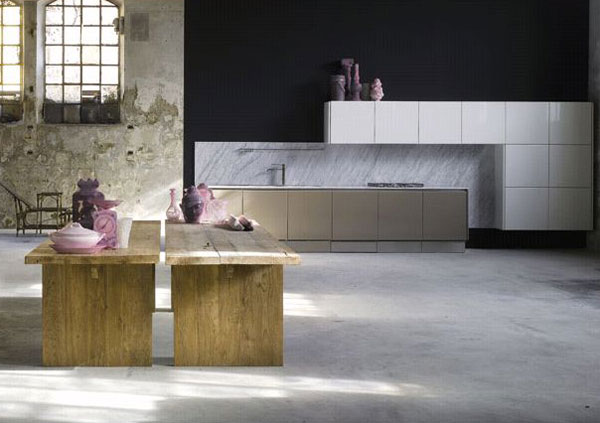 kitchen by marcozanuso