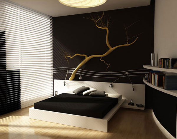 bedroom 3D interiors