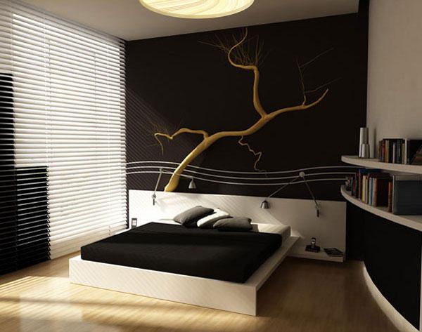 bedroom 3D interiors