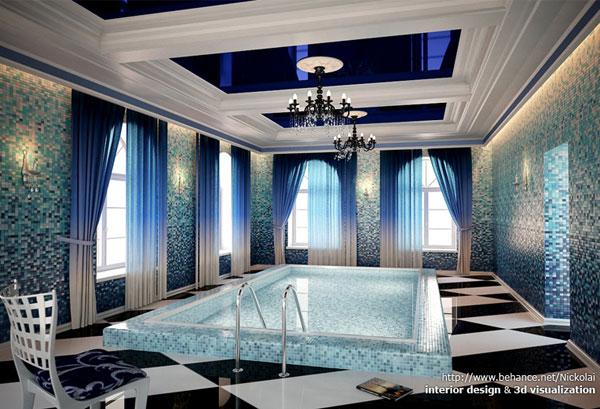 indoor pool 3D