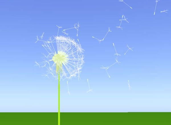 dandelion game