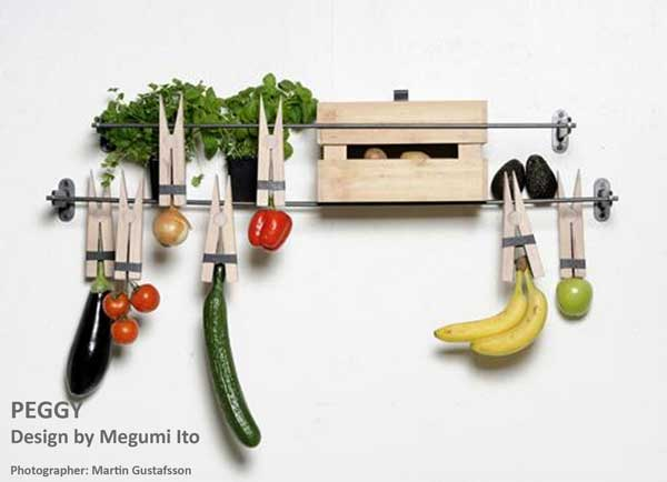 fruits and vegetable storage