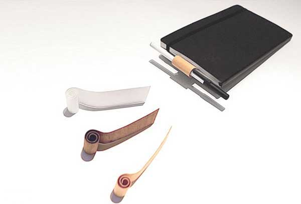 bookmark+ penholder