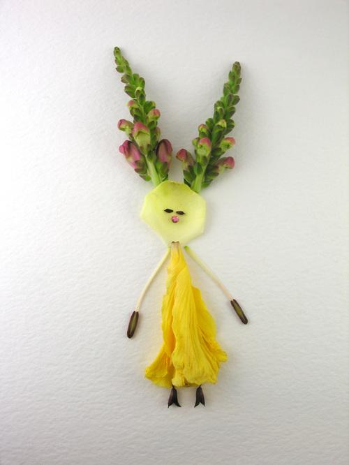 Lourdes-flower girl