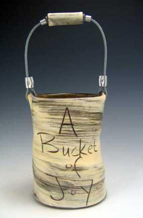 bucket of love, peace, joy
