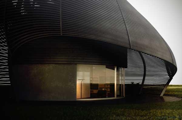 shell house exterior