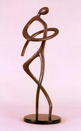 ballerina, bronze sculpture