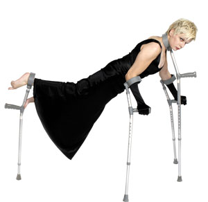 claire cunningham dancing on crutches