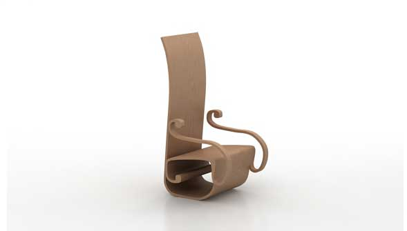 spiral chair - rulo