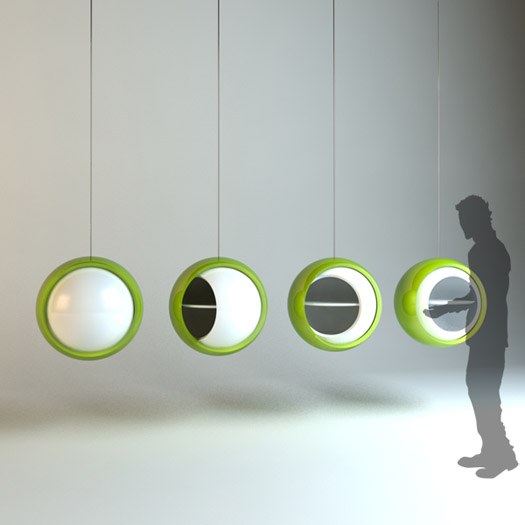 Q ball cabinet by Alper Gunduz