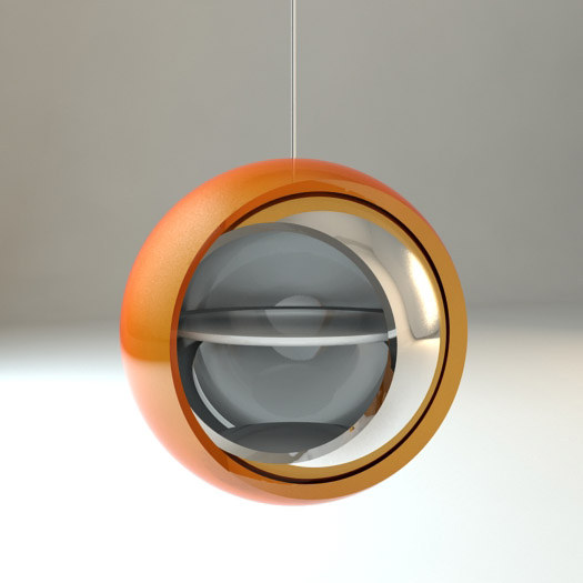 Q ball ceiling hanging cabinet