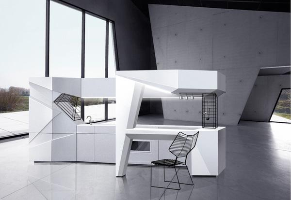 origami-mi kitchen by olga kryulova
