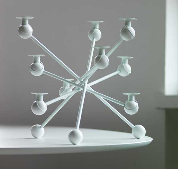 Atomos candleholder