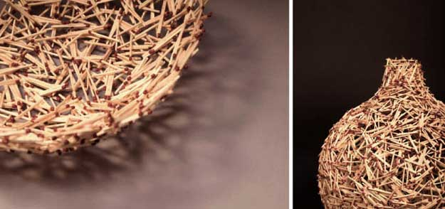 matchsticks creation