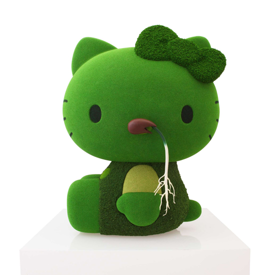 hello kitty -moss
